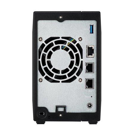 Asustor ASUS AS4002T Armada 7020 Ethernet LAN Zwart NAS