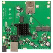Mikrotik RBM11G bedrade router Zwart, Groen, Grijs