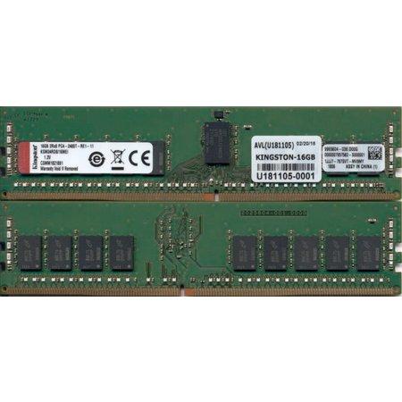 Kingston Kingston Technology KSM24RD8/16MEI geheugenmodule 16 GB DDR4 2400 MHz ECC