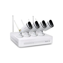 Foscam NVR Security System Kit FN3104W B4 720P WiFi