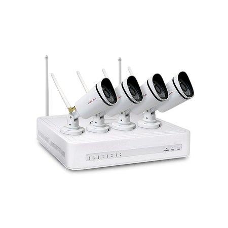 Foscam Foscam FN3104W videotoezichtkit Bedraad en draadloos 4 kanalen