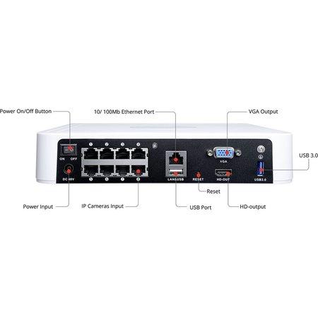 Foscam Foscam FN7108HE Netwerk Video Recorder