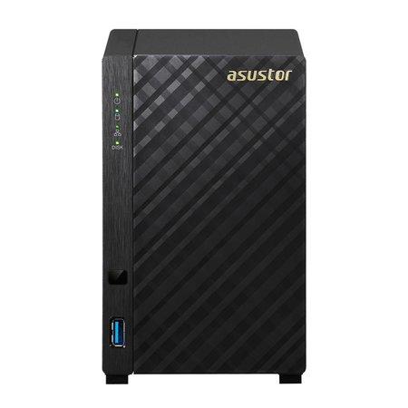 Asustor ASUS AS1002T v2 Armada 385 Ethernet LAN Zwart NAS