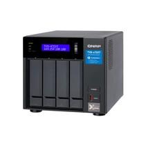 QNAP TVS-472XT G5400T Ethernet LAN Tower Zwart NAS