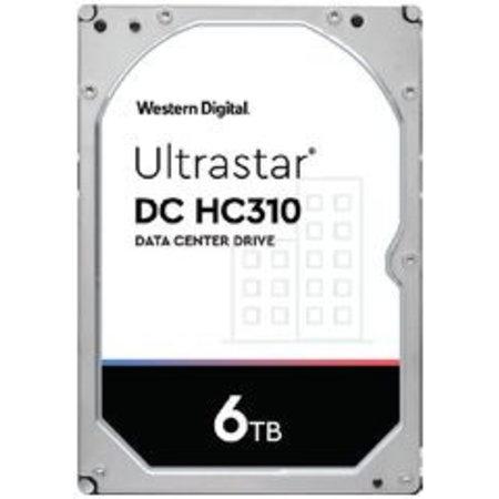 Western Digital Western Digital 6TB Ultrastar DC HC310 (7K6) SATA 512e SE  (HUS726T6TALE6L4)