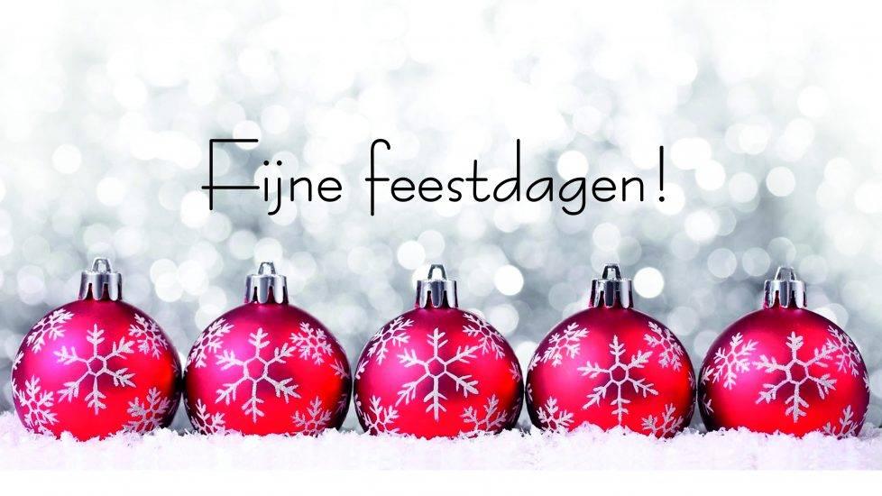 Gewijzigde openingstijden feestdagen!