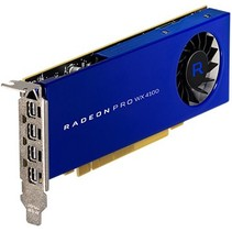 Radeon PRO WX 4100 4GB PCIE 3.0 16X 4X M-DP LP RETAIL