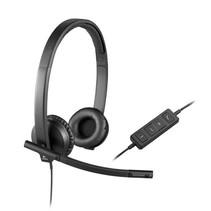 Headset Logitech Stereo H570e