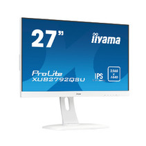 27i WIDE LCD. 2560 x 1440 WQHD. IPS. LED. FreeSync. USB-Hub (2xOut). Pivot. Height Adjust. 350 cd/m2. 5.000.000:1 ACR. Speakers. DP. HDMI. DVI-D. 5ms