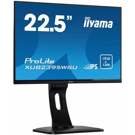 "Iiyama iiyama ProLite XUB2395WSU-B1 computer monitor 57,1 cm (22.5"") 1920 x 1200 Pixels WUXGA LED Zwart"