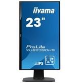 "Iiyama iiyama ProLite XUB2390HS-B1 LED display 58,4 cm (23"") Full HD Flat Mat Zwart"