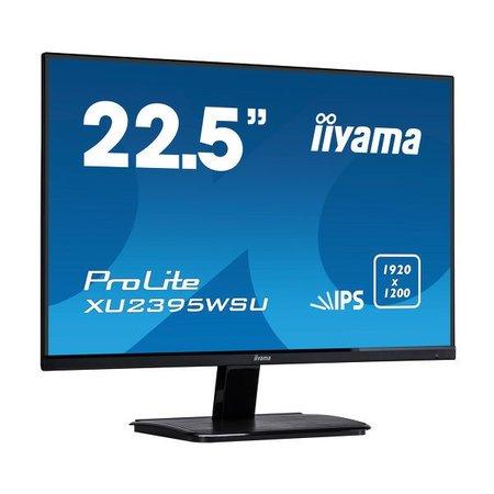 """Iiyama iiyama ProLite XU2395WSU-B1 LED display 57,1 cm (22.5"""") Full HD Flat Mat Zwart"""