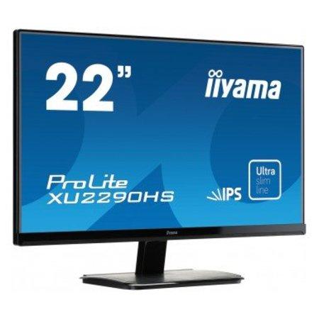 "Iiyama iiyama ProLite XU2290HS-B1 computer monitor 54,6 cm (21.5"") Full HD LED Mat Zwart"
