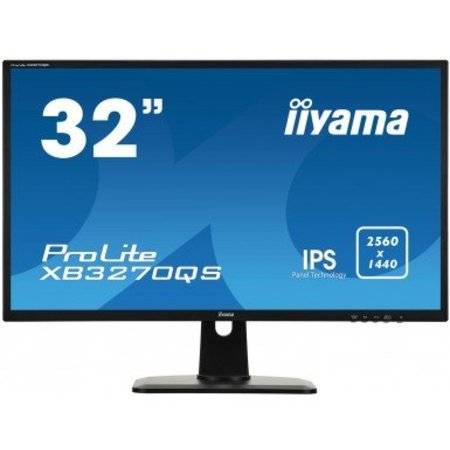 "Iiyama iiyama ProLite XB3270QS-B1 computer monitor 80 cm (31.5"") 2560 x 1440 Pixels Wide Quad HD LED Zwart"