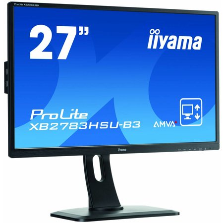 "Iiyama iiyama ProLite XB2783HSU-B3 computer monitor 68,6 cm (27"") 1920 x 1080 Pixels Full HD LED Zwart"