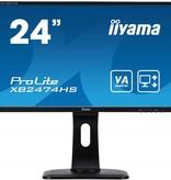 "Iiyama iiyama ProLite XB2474HS-B1 computer monitor 59,9 cm (23.6"") Full HD LED Flat Mat Zwart"