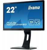 "Iiyama iiyama ProLite XB2283HS-B3 LED display 54,6 cm (21.5"") 1920 x 1080 Pixels Full HD Zwart"