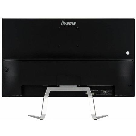 "Iiyama iiyama ProLite X3272UHS-B1 LED display 81,3 cm (32"") 4K Ultra HD Flat Mat Zwart, Zilver"