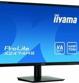 "Iiyama iiyama ProLite X2474HS-B1 computer monitor 59,9 cm (23.6"") Full HD LED Flat Zwart"