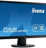 "Iiyama iiyama ProLite X2283HS-B3 LED display 54,6 cm (21.5"") 1920 x 1080 Pixels Full HD Zwart"