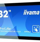 """Iiyama iiyama TF3238MSC-B1AG beeldkrant 80 cm (31.5"""") LED Full HD Interactive flat panel Zwart"""