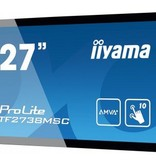 "Iiyama iiyama ProLite TF2738MSC-B1 touch screen-monitor 68,6 cm (27"") 1920 x 1080 Pixels Zwart Multi-touch"