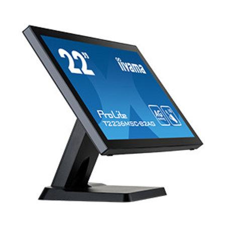 "Iiyama iiyama ProLite T2236MSC touch screen-monitor 54,6 cm (21.5"") 1920 x 1080 Pixels Zwart Multi-touch"