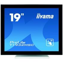 19i LCD Capacitive 10-Points TouchScreen  1280x1024  IPS panel  Bezelfree GlassFront  VGA  HDMI  DP  USB Interface  AntiGlare Glass