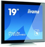 "Iiyama iiyama ProLite T1932MSC-W5AG touch screen-monitor 48,3 cm (19"") 1280 x 1024 Pixels Zwart, Wit Multi-touch Multi-gebruiker"
