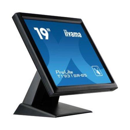 "Iiyama iiyama ProLite T1931SR-B5 touch screen-monitor 48,3 cm (19"") 1280 x 1024 Pixels Zwart Single-touch"