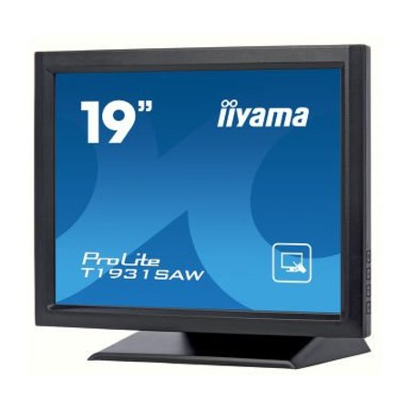"Iiyama iiyama ProLite T1931SAW-B5 touch screen-monitor 48,3 cm (19"") 1280 x 1024 Pixels Zwart Single-touch"