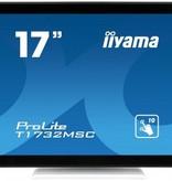 "Iiyama iiyama ProLite T1732MSC-W1X touch screen-monitor 43,2 cm (17"") 1280 x 1024 Pixels Zwart, Wit Multi-touch"