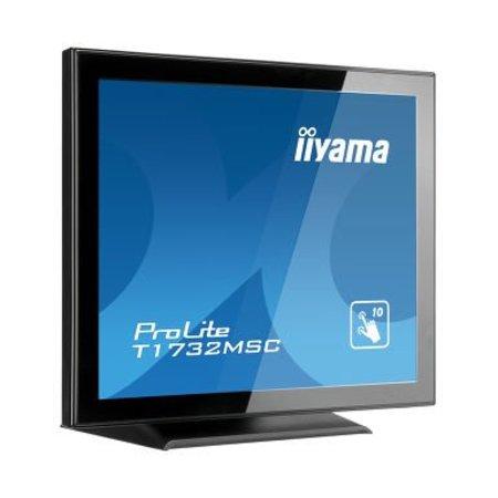 "Iiyama iiyama ProLite T1732MSC-B5X touch screen-monitor 43,2 cm (17"") 1280 x 1024 Pixels Zwart Multi-touch"
