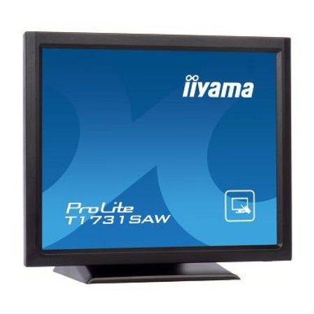 "Iiyama iiyama ProLite T1731SAW-B5 touch screen-monitor 43,2 cm (17"") 1280 x 1024 Pixels Zwart"