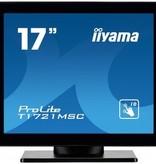 "Iiyama iiyama ProLite T1721MSC-B1 touch screen-monitor 43,2 cm (17"") 1280 x 1024 Pixels Zwart Multi-touch Tafelblad"