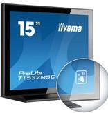 "Iiyama iiyama ProLite T1532MSC-B5X touch screen-monitor 38,1 cm (15"") 1024 x 768 Pixels Zwart Multi-touch"