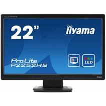 P2252HS-B1 22iWIDE LCD 1920 x 1080 LED TN panel Protective Glass 5.000.000:1 ACR Speakers HDMI HDCP D-sub DVI-D 5ms