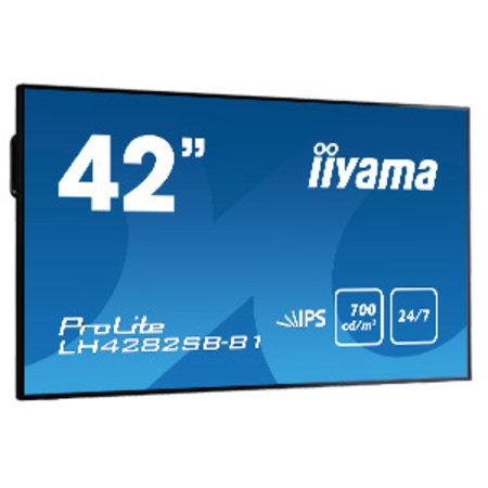 """Iiyama iiyama LH4282SB-B1 beeldkrant 106,4 cm (41.9"""") LED Full HD Zwart"""