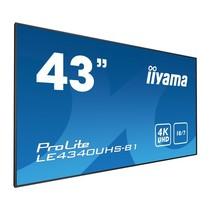 """iiyama LE4340UHS-B1 beeldkrant 108 cm (42.5"""") LED 4K Ultra HD Zwart Android"""