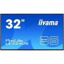 "iiyama ProLite LE3240S-B1 81,3 cm (32"") LED Full HD Digitale signage flatscreen Zwart"