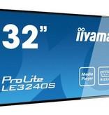 "Iiyama iiyama ProLite LE3240S-B1 81,3 cm (32"") LED Full HD Digitale signage flatscreen Zwart"