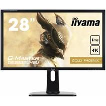 28i Gaming G-Master Golden Phoenix 3840x2160 4K UHD FreeSync Height Adjust 300cdm*2 ACR Speakers 1xDisplayPort3xHDMI (MHL) VGA 1ms USB HUB (3.0)
