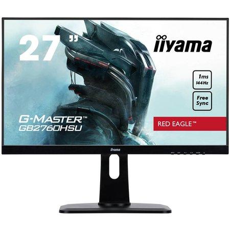 "Iiyama iiyama G-MASTER GB2760HSU-B1 computer monitor 68,6 cm (27"") Full HD LED Flat Mat Zwart"