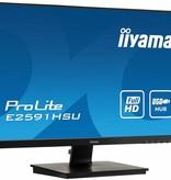 "Iiyama iiyama ProLite E2591HSU-B1 LED display 62,2 cm (24.5"") Full HD Flat Mat Zwart"