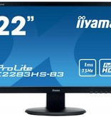 "Iiyama iiyama ProLite E2283HS-B3 LED display 54,6 cm (21.5"") Full HD Flat Mat Zwart"