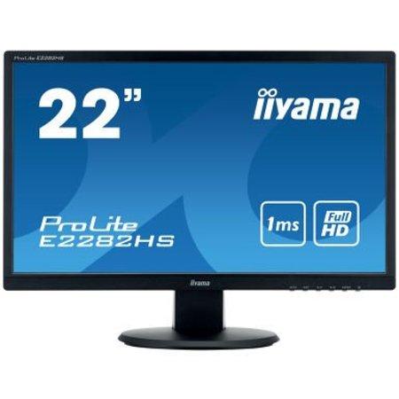 "Iiyama iiyama ProLite E2282HS-B1 LED display 54,6 cm (21.5"") 1920 x 1080 Pixels Full HD Zwart"