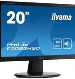 "Iiyama iiyama ProLite E2083HSD-B1 LED display 49,5 cm (19.5"") 1600 x 900 Pixels HD+ Zwart"