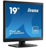 "Iiyama iiyama ProLite E1980SD 48,3 cm (19"") 1280 x 1024 Pixels SXGA LED Zwart"