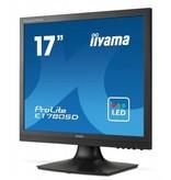 "Iiyama iiyama ProLite E1780SD-B1 computer monitor 43,2 cm (17"") 1280 x 1024 Pixels SXGA LED Zwart"