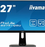 "Iiyama iiyama ProLite B2791QSU-B1 computer monitor 68,6 cm (27"") 2560 x 1440 Pixels Quad HD LED Zwart"
